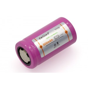 900mAh 18350 Lithium Şarjedilebilir Batarya - 3.7V, E-Pipe, Elektronik Sigara Bataryası