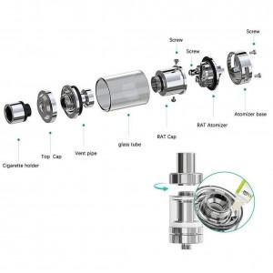 IStick 75W Mod LCD Vape Kit - Elektronik Sigara, Yüksek Duman, Sıcaklık Kontrollü