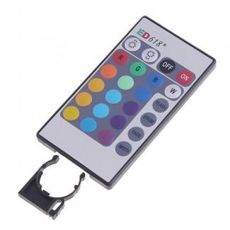 Uzaktan Kumandalı 3W E27 RGB LED Lamba Ampül - Değişen 16 Renk LED Spot Işık
