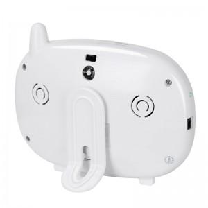 3,5 inch Ekran Kablosuz Bebek Monitörü - Sıcaklık İzleme, İki Yönlü Ses, Gece Görüş, IR Kesme, Şarkı Çalma
