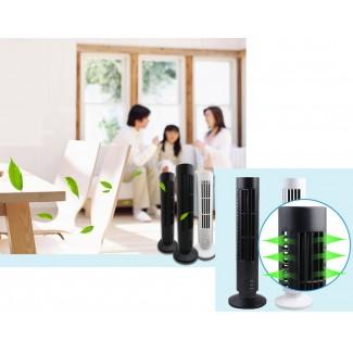 Taşınabilir Mini Kule Klima Vantilatör Fan - Ev, Ofis, Heryerde Kullanım, Ayarlanabilir Fan Hızı, En Ucuzu