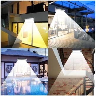 3000mAh 6W Dış Mekan LED Güneş Enerjili Aydınlatma - 48 LED Işık, 800 Lümen, Güneş Enerjili, IP65 Su Geçirmez