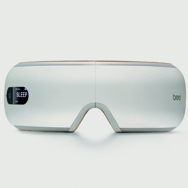 Breo Taşınabilir Göz Masaj Cihazı - Isıtma, Hava Sıkıştırma, Titreşim, Yoğurma Masajı, 3 Müzik Modlu