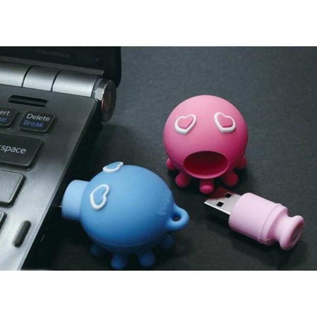 Ahtapot - Octopus - Tasarımlı Anahtarlık USB Flash Bellek (2/4/8/16GB)