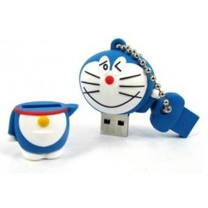 Şirin Kedi - Cat -Tasarımlı Anahtarlık USB Flash Bellek (2/4/8/16GB)