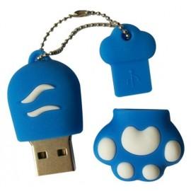 Kedi Patisi- at Claw-Tasarımlı Anahtarlık USB Flash Bellek (2/4/8/16GB)