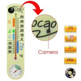 4GB hafızalı Termometre Spy Kamera ve Gizli Lens (Termometre Gizli Kamera)