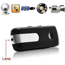 USB Flash Disk Spy Gizli Kamera DVR - Hareket Algılama - Titreşim - HD Pinhole Kamera