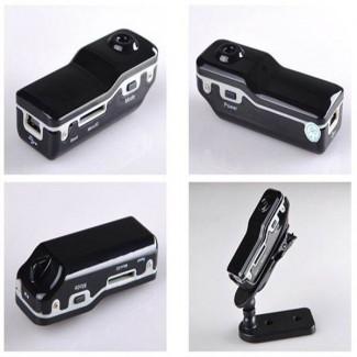 MD80 - Mini DV DVR Video Kaydedici Gizli Kamera - Micro SD Destekli, Aksiyon Kamera, Ses Algılama