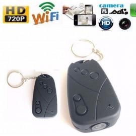 Wifi HD 720P Araba Anahtarı Gizli Kamera - Wifi Özellikli Anahtar Kamera, IOS Android Destekli