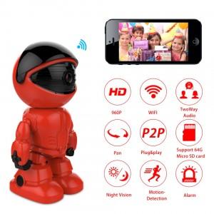 960P HD Wireless Robot Wifi Kamera - Gece Görüş, IP Kamera, CCTV, Çift Yollu Ses
