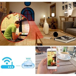 WIFI IP Kamera P2P Kamera HD 1080P 5000mAh Güç Bankası Powerbank Kamera - Hareket Algılama, Mini Kamera