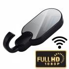 Mini Askılık Şekli 1080P HD Wi-Fi Kamera - Askı Gizli Kamera, Gece Görüş, Hareket Algılama, Döngüsel Kayıt, Ev Güvenliği