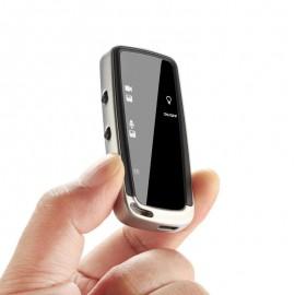 Mini 480P Dijital Anahtarlık Ses Kayıt Cihazı + Gizli Kamera - Fotoğraf Çekme, Metal Tasarım
