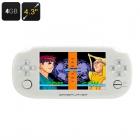 4.3 İnç Ekran Taşınabilir Oyun Konsolu - 32 BIT Oyun, HD Video Desteği, Müzik Çalma, 32GB SD Kart Yuvası, 3MP Kamera