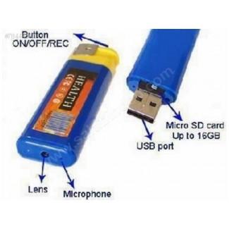 Çakmak DV Kamera + 8GB'a Kadar Micro SD Kart Destekli