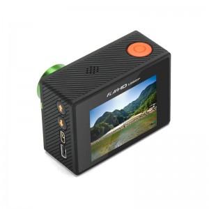 20MP Ultra HD 4K Aksiyon Kamera - DVR Döngüsel Kayıt, Saat Uzaktan Kumanda, Wi-Fi, iOS + Android App