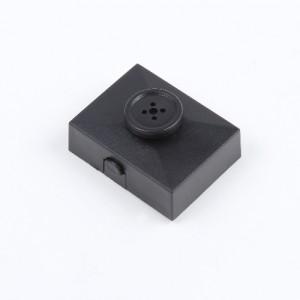1080P Mini HD Düğme Gizli Kamera - Hareket Algılama, Döngüsel Kayıt