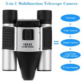 Dijital Teleskop CCTV Kameralı Dürbün - MicroSD Kart Destekli, USB Video Çıkış