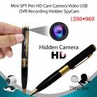 Mini Gizli Kameralı Tükenmez Kalem Video Kamera DVR - Güvenlik Kamerasi, Bebek Bakıcı Kamera, 1280x1240