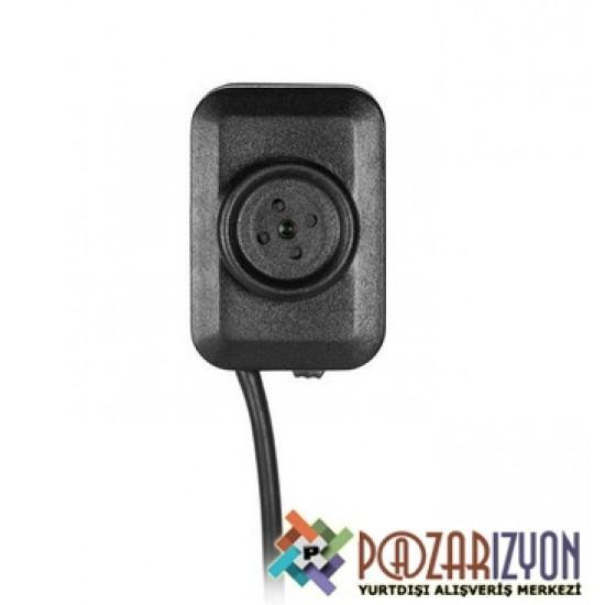 Full HD 1080P Mikro Buton Gizli Kamera - Mini Buton DVR, Döngüsel Kayıt Desteği, Güvenlik Kamerası