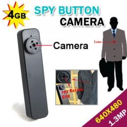 4GB Casus Düğme Gizli Kamera