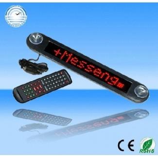 Araba için Uzaktan Kumandalı Elektronik LED Ekran Kayan Yazı Panosu (12V)