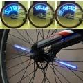 Motosiklet / Bisikletler Tekerlekleri için Ayarlanabilir Kablosuz LED Mesaj Yazı - LED Tekerlek Yazısı