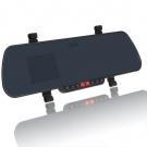 2.7 Inch TFT LCD Ekran HDMI HD 1080P Araç Gece Görüş Özellikli Dikiz Ayna Kamera Monitör - Hareket Algılama