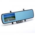 4.3 Inch Oto Araç Black Box Dikiz Aynası - G-Sensor, Hareket Algılama, Kapanma Zaman Ayarlı
