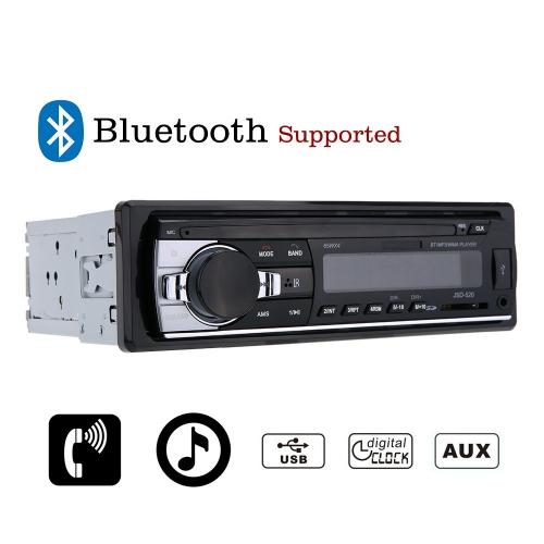 1 DIN Bluetooth Destekli Stereo Radyo Oto Teyp - FM Aux Giriş, WMA WAV MP3 Player, SD/USB Port