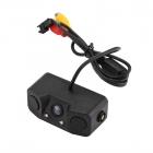 Mesafe Alarm Sensörlü Araç Geri Görüş Kamerası - Gece Görüş,170-Desrece Görüş Açısı, Su Geçirmez