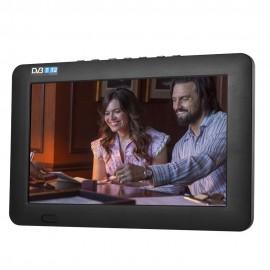7 Inch Portatif TFT LCD Ekran DVB-T / T2 TV Player - Digital ve Analog TV, AV, USB, TF Kart Destekler