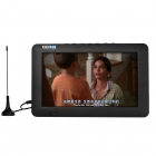 7 Inch Portatif TFT LCD Ekran DVB-T / T2 TV Player - Digital ve Analog TV, AV, USB, TF Kart Destekler