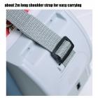 7.5L Kapasiteli Taşınabilir Oto Buzdolabı Soğutucu Isıtıcı - Mavi, 12V, Portatif Araç Soğutucu