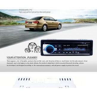 Bluetooth Özellikli 60w Çıkışlı Oto Teyp - Bluetooth, Usb, Aux, Hafıza Kartı, Dijital saat; Anfi çıkışı