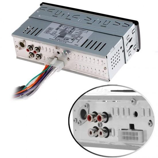 Bluetooth Aux Özellikli Stereo Ses FM 4x50W Çıkışlı Oto Teyp - SD, USB, MP3, Radio