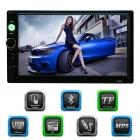 Tüm Otomobillerle Uyumlu 7 inch HD Ekran Bluetooth Araç Radyo MP5 Çalar Teyp - USB / TF FM Aux Girişi