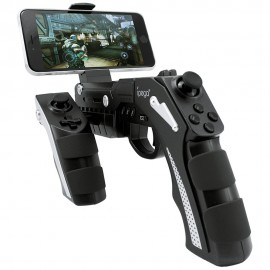 iPeg PG Phantom Bluetooth Joystick Tabanca Oyun Kolu - Android, IOS, PC, Tablet Uyumlu, Titreşimli