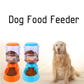 Renkli 3.5 Litre Otomatik Pet Evcil Hayvan Besleme Dispenseri - Kedi, Köpek Besleyici Gıda Dağıtıcısı