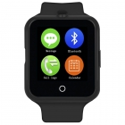 NO.1 D3 Akıllı Smart Bluetooth Kol Saati Telefon - 1.44 Inch Dokunmatik Ekran, GSM, Kalp Ritim, Adım Sayar