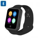 NO.1 D3  Akıllı Smart Bluetooh Kol Saati Telefon - 1.44 Inch Dokunmatik Ekran, GSM, Kalp Ritim, Adım Sayar