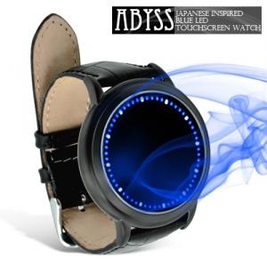 Fancy - Japon Stili Yaratıcı Tasarım Mavi LED Dokunmatik Ekran Kol Saati