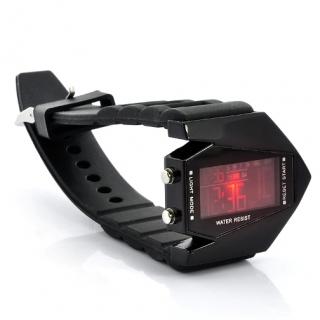 Fashion Değiştirilebilen LED Renk Kol Saati - Plane Model