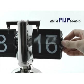 Retro Flip Down Masaüstü Saat - Geleneksel Saatlerinizden Kurtulun - Farklılık Yaratın