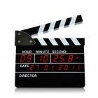 Film Klaket Sahne Dijital LED Masaüstü Çalar Saat - Yönetmen Sürümü