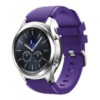 Samsung Gear S3 Frontier SmartWatch için Spor Silikon Renk Seçimli Saat Kordonu Kayış