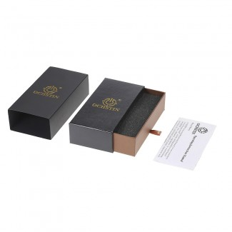 Orijinal OCHSTIN Marka Luxury Deri Quartz Kol Saati - Su Geçirmez, Takvimli, Erkek Saat, Çizilmez Camlı