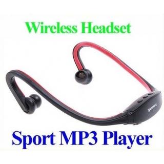 Hafıza Kart Destekli Wireless Spor Dijital Kulaklık Mp3 Player