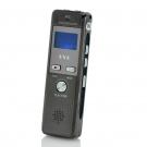 4GB Dijital Ses Kayıt Cihazı - Telefon Kaydı, FM Radyo, VOX